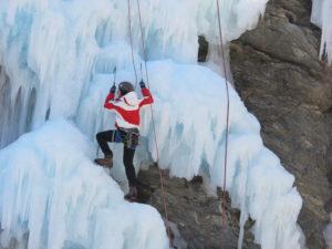 Des cascades de glace !