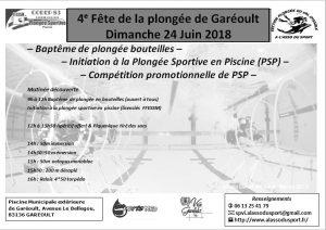 4e édition de la fête de la plongée @ Piscine municipale de Garéoult | Garéoult | Provence-Alpes-Côte d'Azur | France