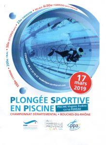 Championnat départemental des bouches du Rhône de PSP @ Piscine de Fuveau